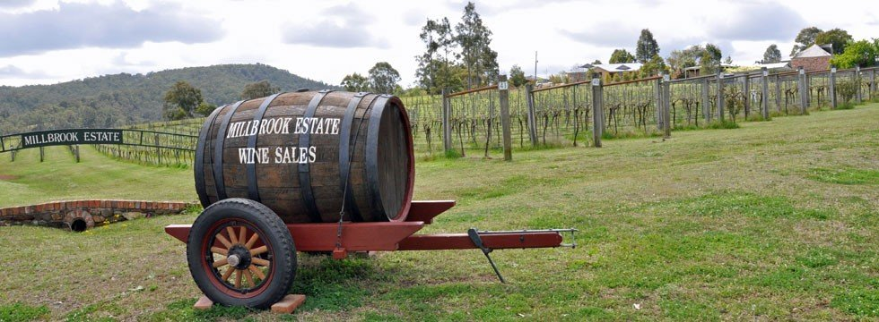 Millbrook Estate, Hunter Valley Vineyard and Winery